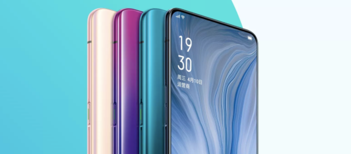Oppo Reno colors