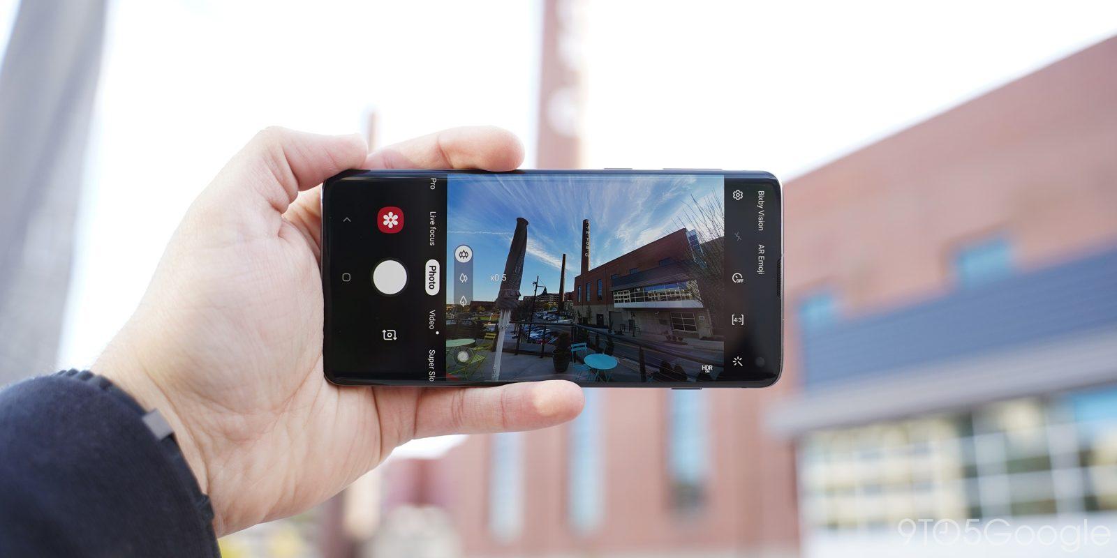 Samsung Galaxy S10 gets Night mode in camera update - 9to5Google