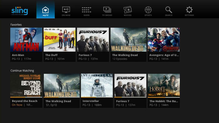 Sling TV to watch NFL games with Android TV