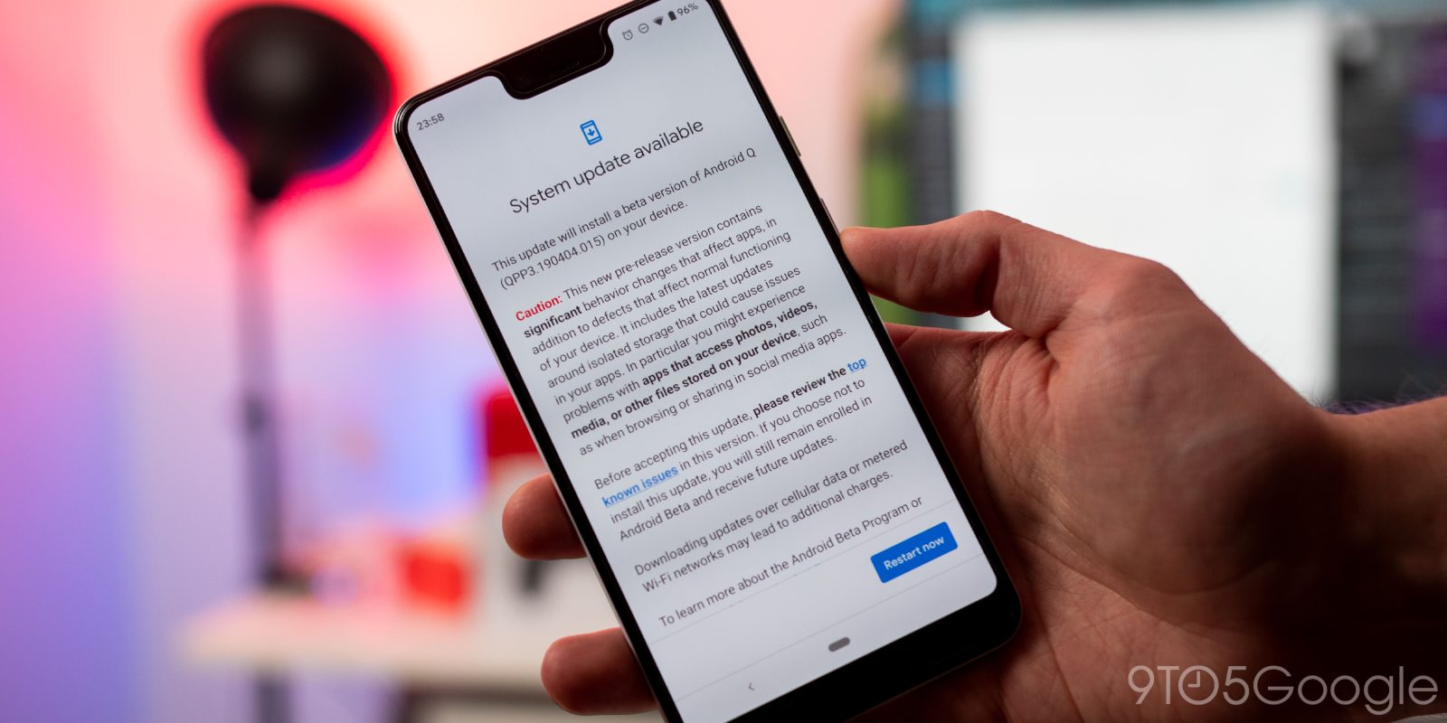 Android Q Beta 3 issues: Beware of OTA download issue - 9to5Google