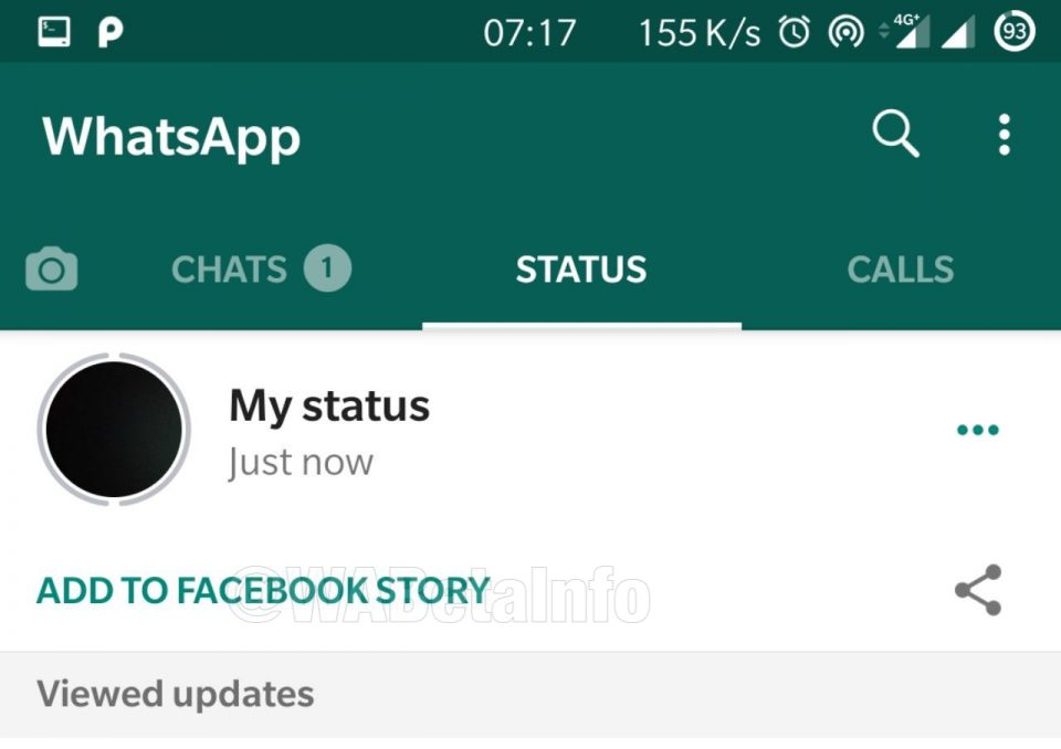 Latest WhatsApp beta adds Share to Facebook, QR code contact adding features