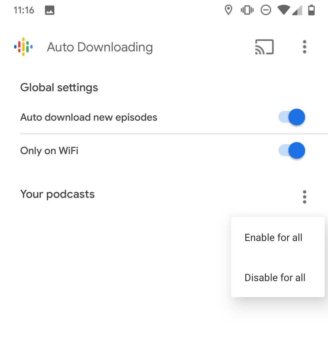 Auto Downloading' is live for some Google Podcasts users - 9to5Google
