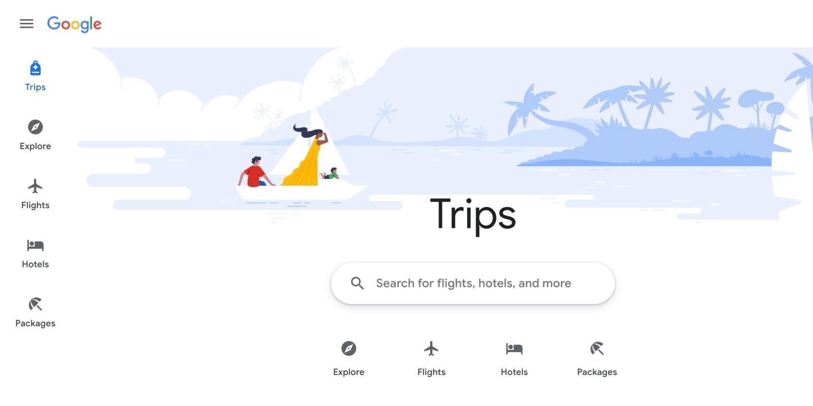 New Google Travel site replacing Google Trips app- 9to5Google