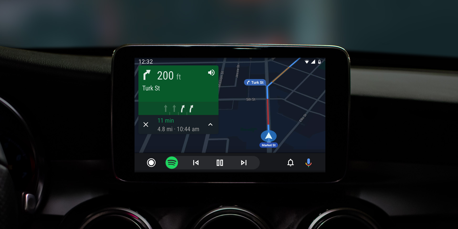 Android Auto redesign with dark theme begins rolling out