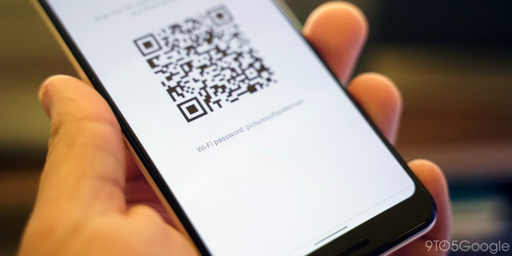 android q wi-fi password