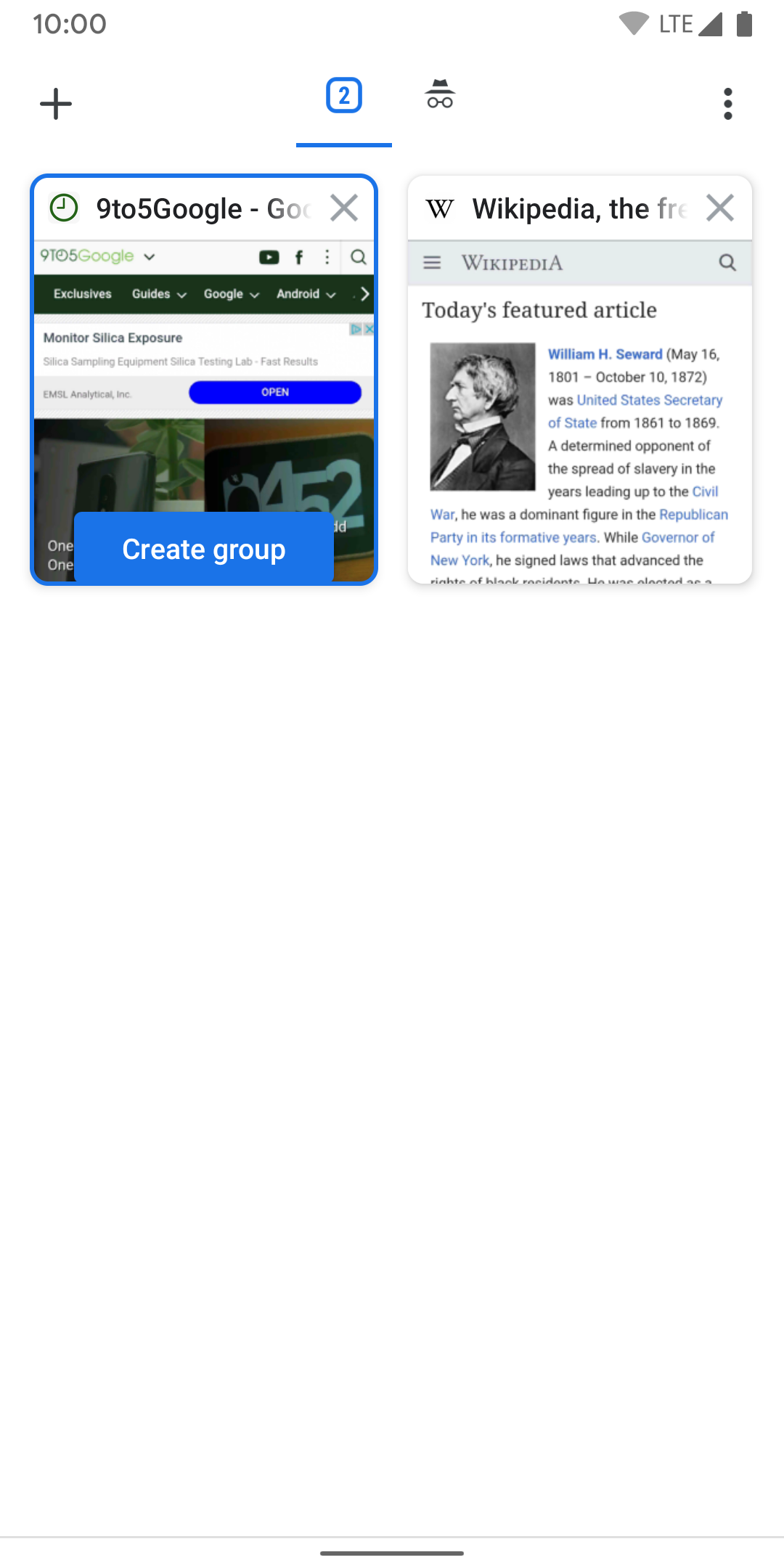 Tab Groups now available in Chrome for Android [Gallery] - 9to5Google