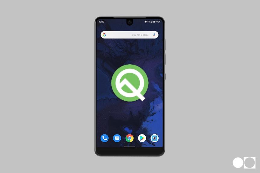 essential android q beta