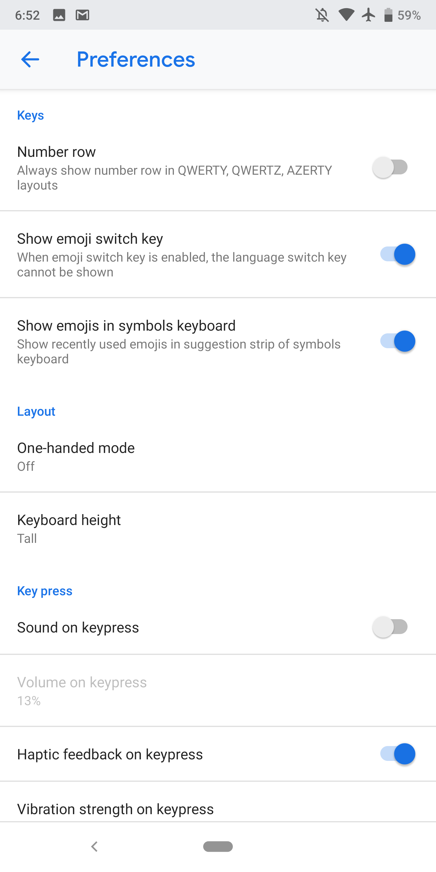 Gboard 8 3 rolls out Material Theme settings, trending