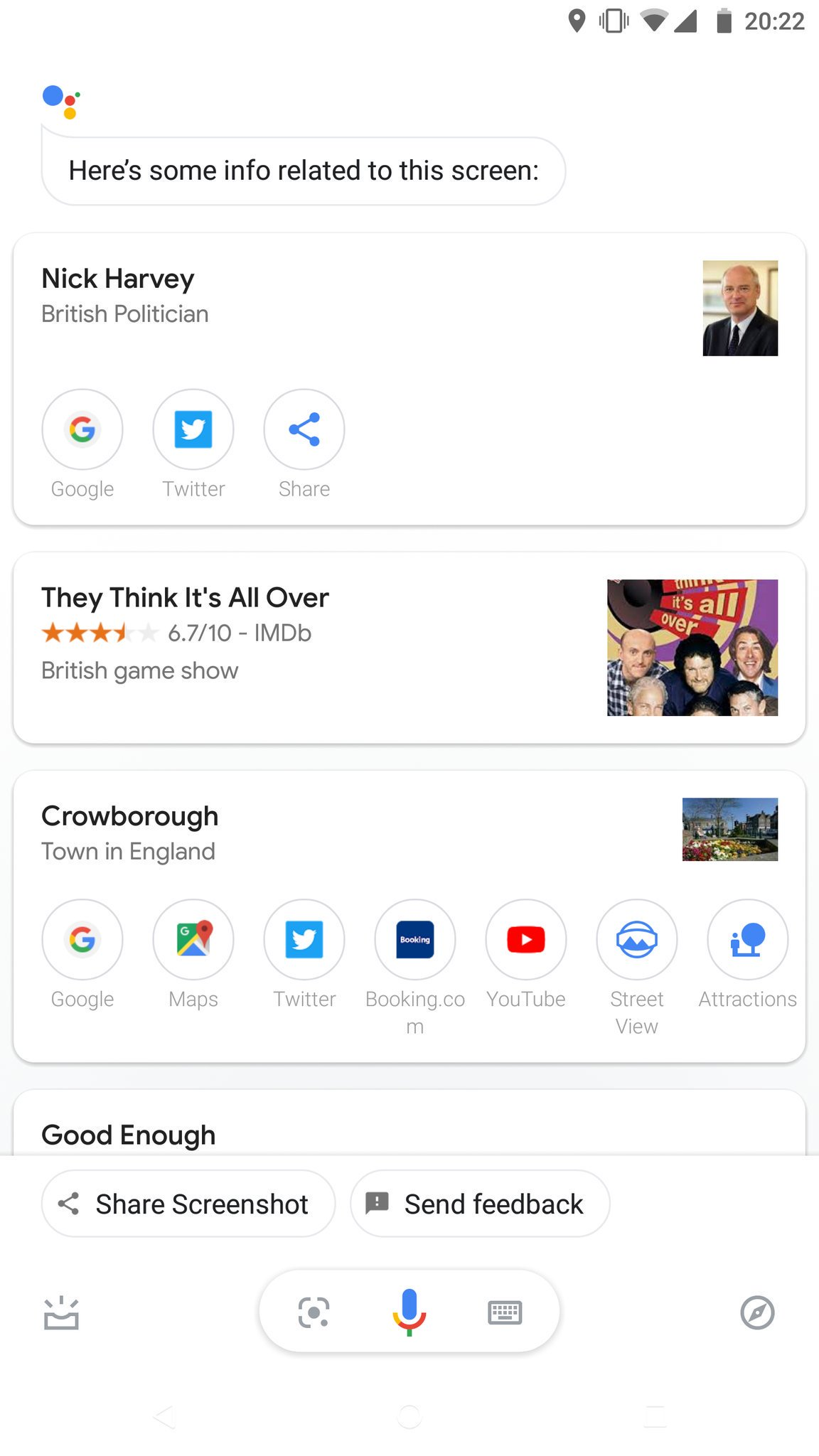 Google Assistant screen search broken for Android users - 9to5Google