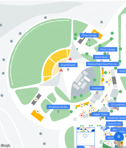 Here's the official Google I/O 2019 map [Gallery] - 9to5Google