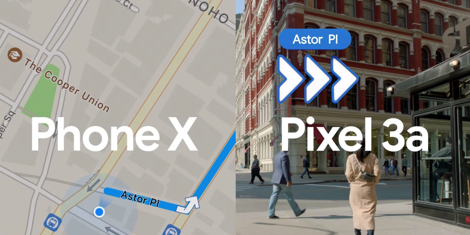 Phone X ad compares Apple Maps to Google Maps AR - 9to5Google