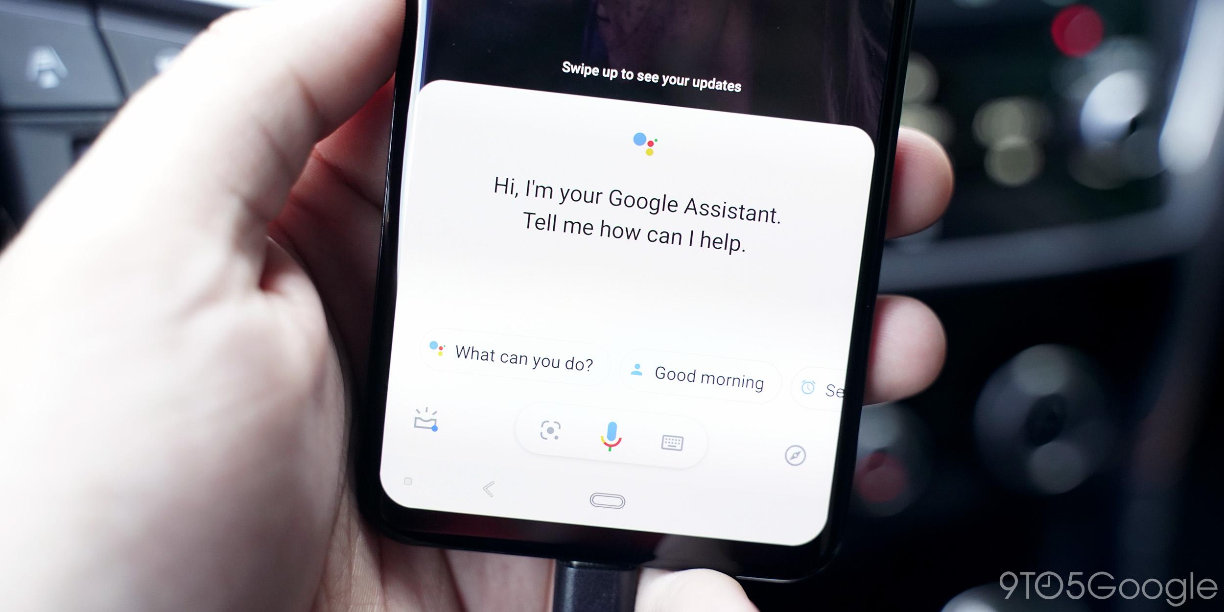 assistant car google i/o 2019