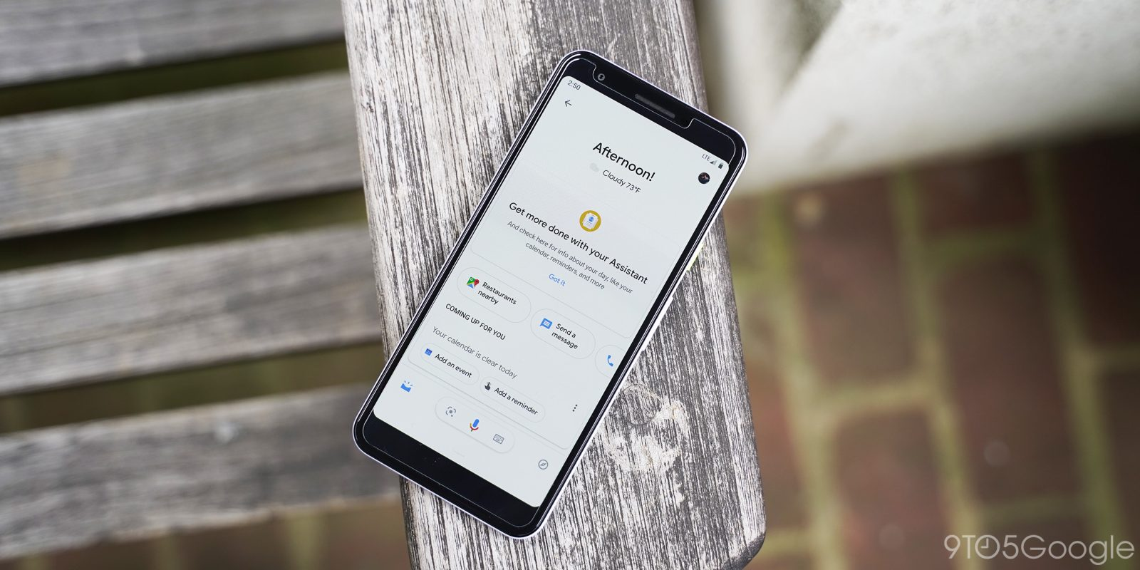 Google Assistant Updates feed adds music, weather cards