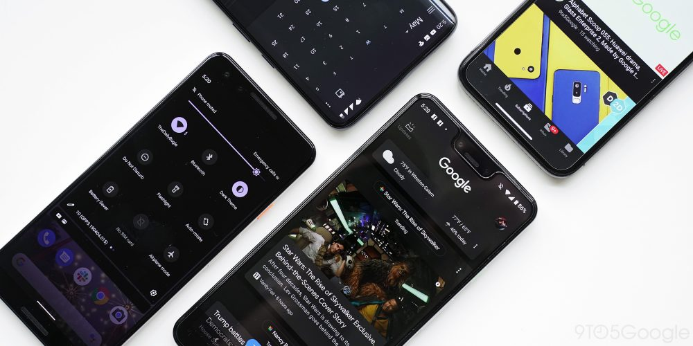 Google Dark Mode app roundup: Everything available so far