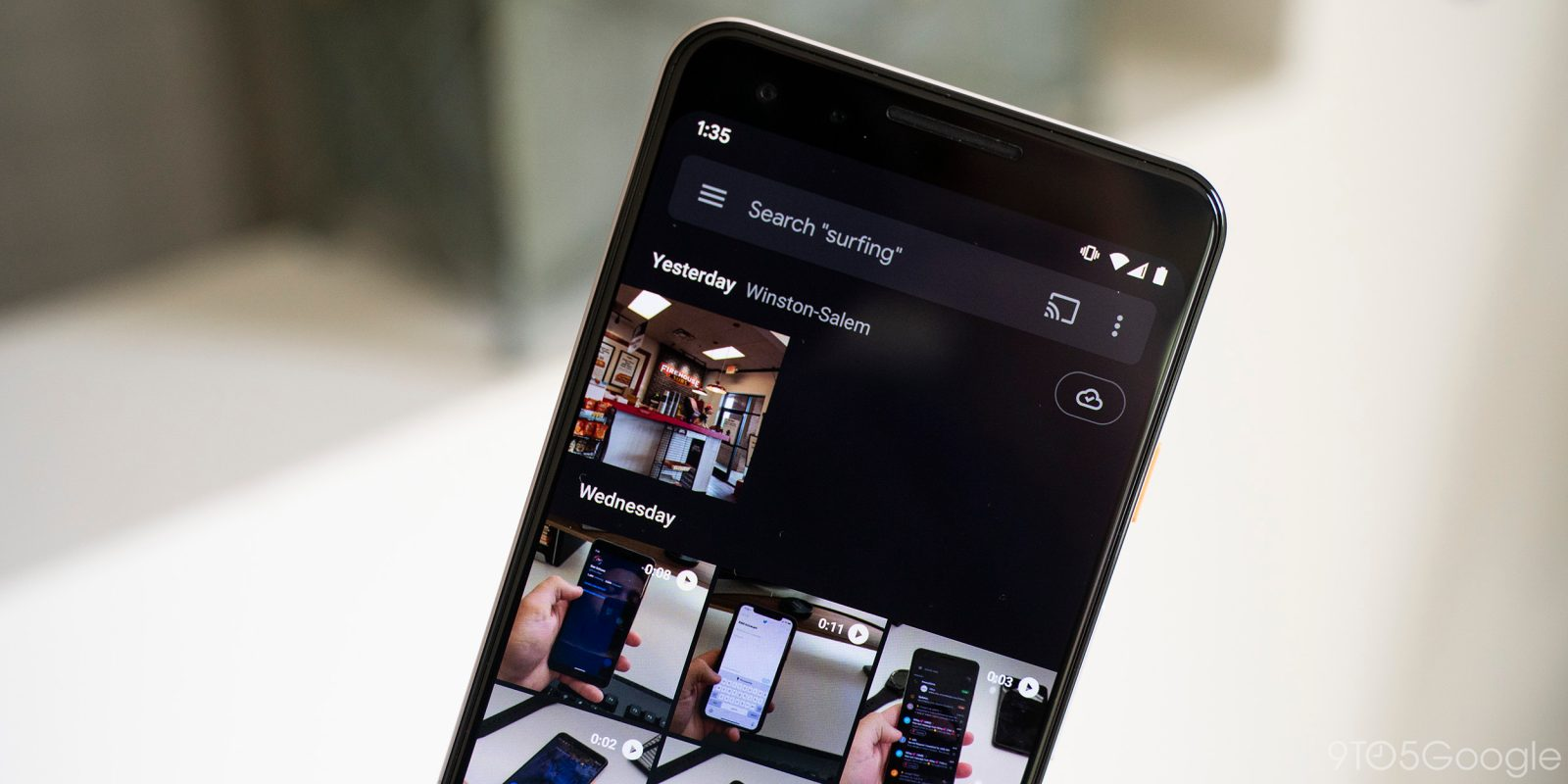 Google Photos can now search for text that appears in images