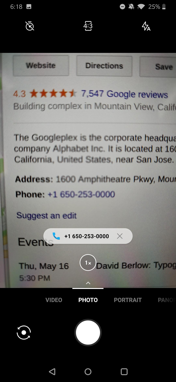 OnePlus Camera update delivers Google Lens integration