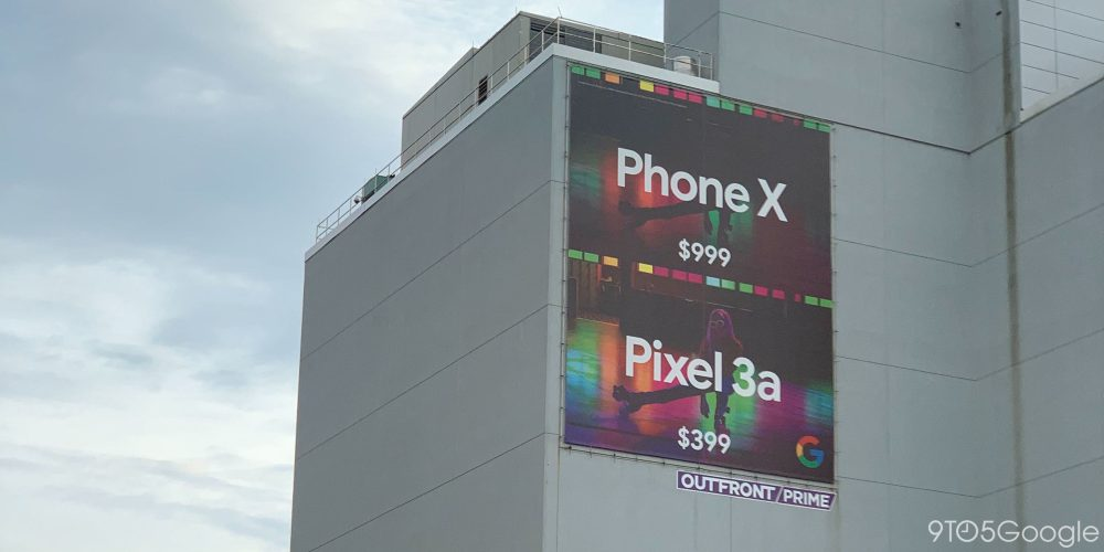 Pixel 3a vs iPhone ad