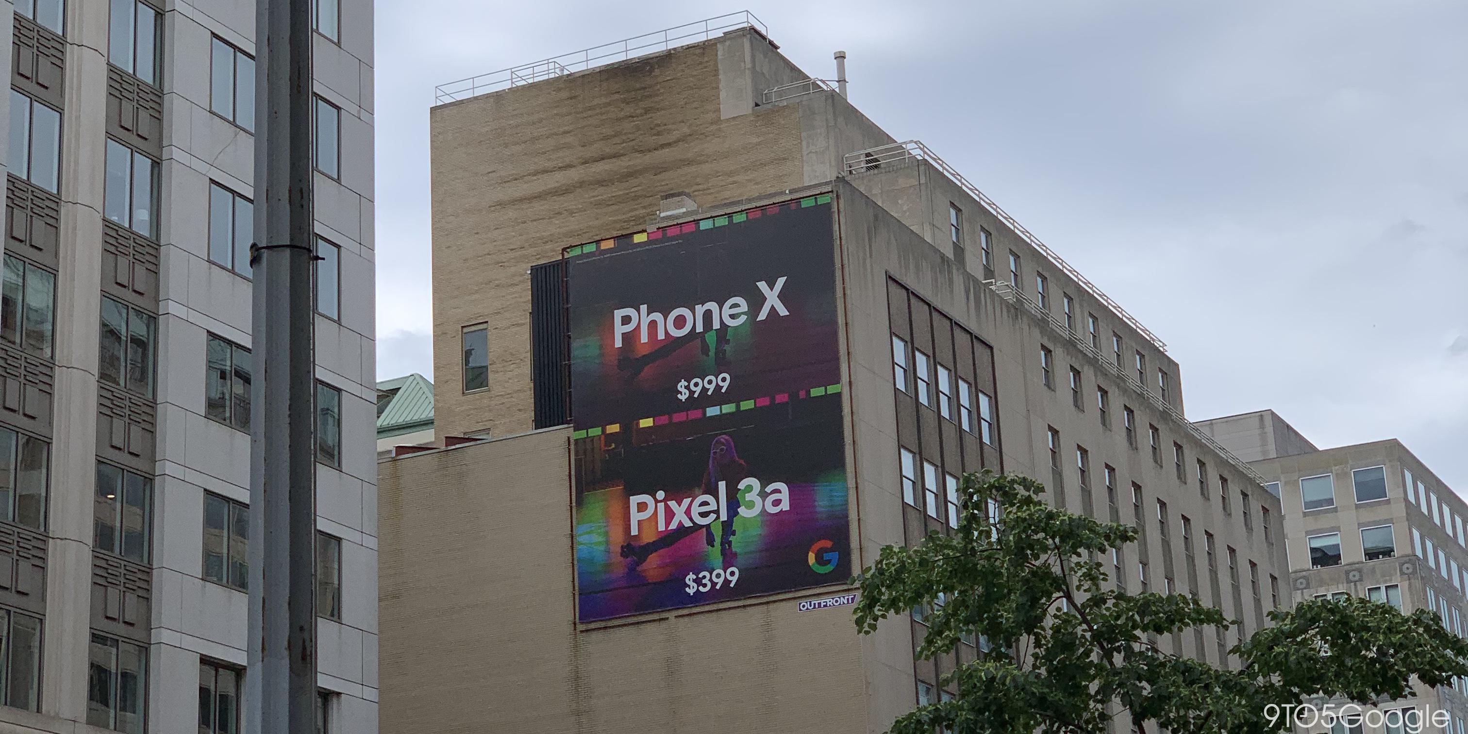 Pixel 3a vs iPhone ad