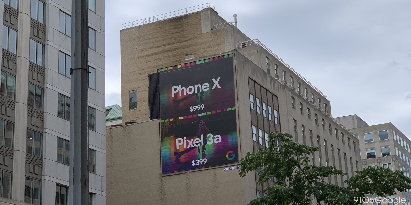 Google Pixel 3a Ad Hammers 'Phone X' on Price and Night Sight