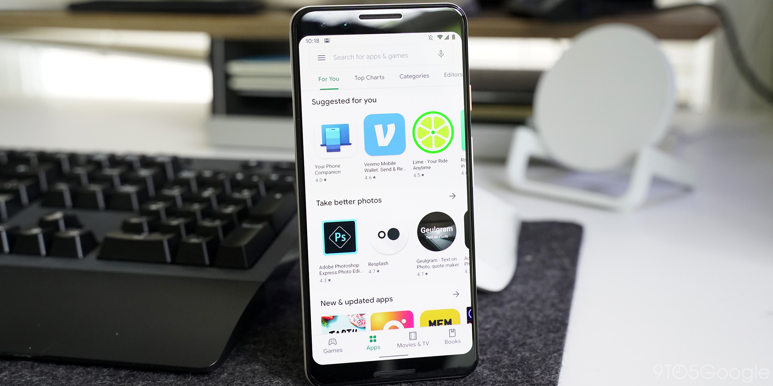Google Material Theme redesign of Play Store rolling out