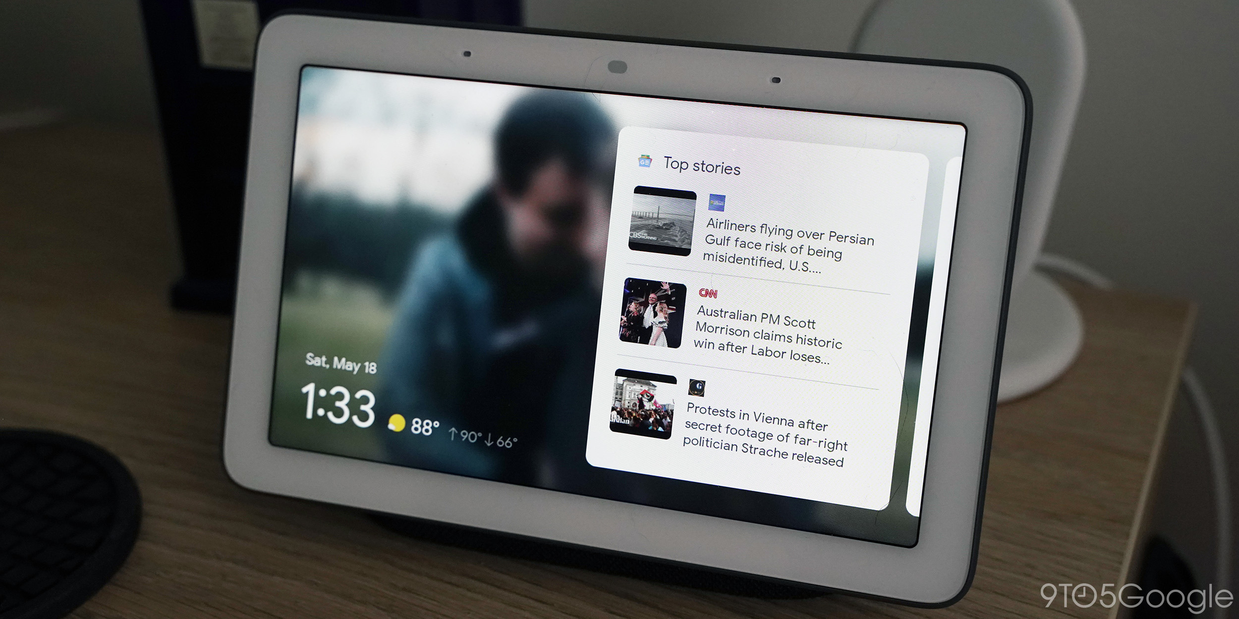 Google rolling out new Smart Display UI with revamped homescreen