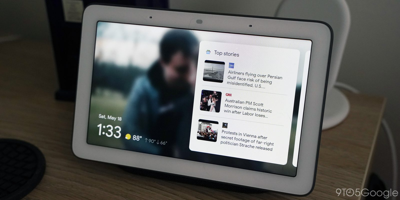 Google rolling out new Smart Display UI and homescreen