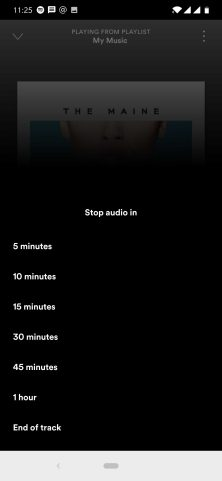 Spotify adds Sleep Timer in latest Android update - 9to5Google
