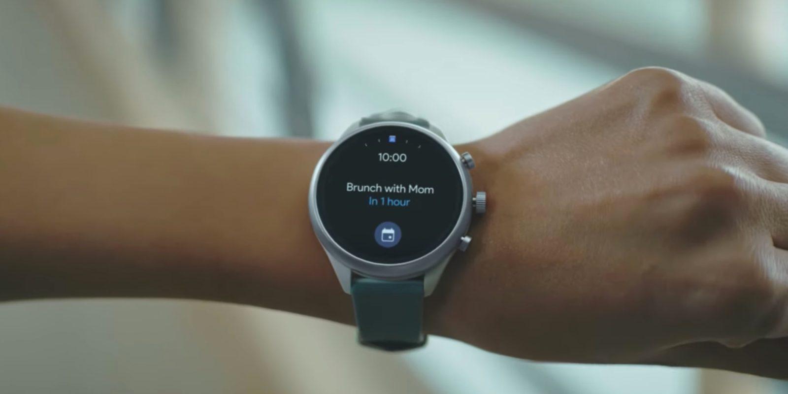 Google announces one swipe access to Wear OS info 'Tiles