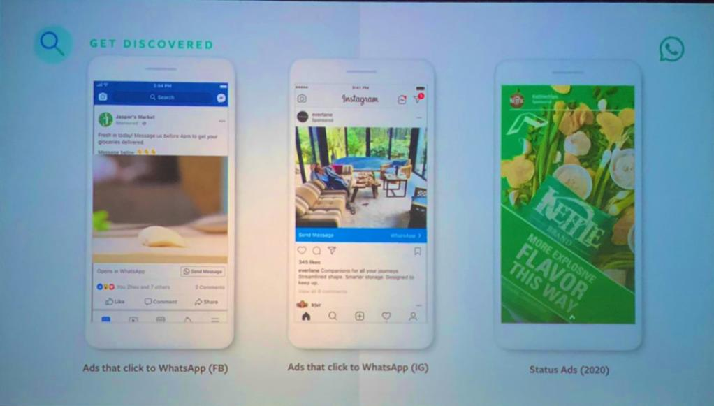 WhatsApp will get in-app ads via 'Status' feature from 2020