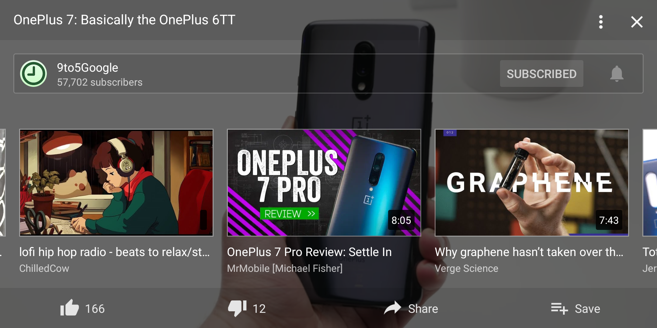 YouTube adds more actions to fullscreen UI on Android - 9to5Google
