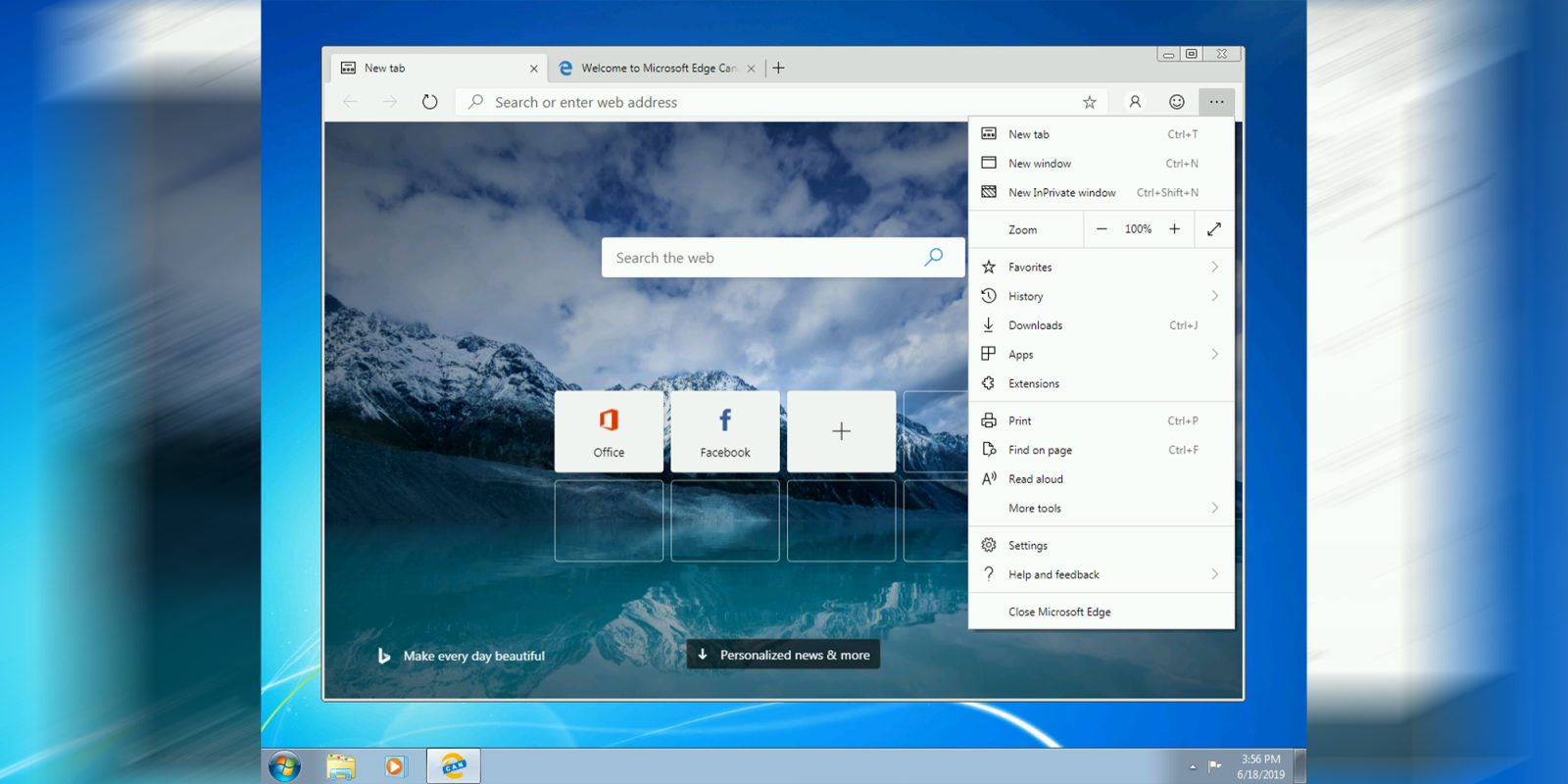 Microsoft's Chromium Edge browser comes to Windows 7 and Windows 8/8.1