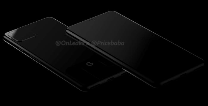 google pixel 4 leak render