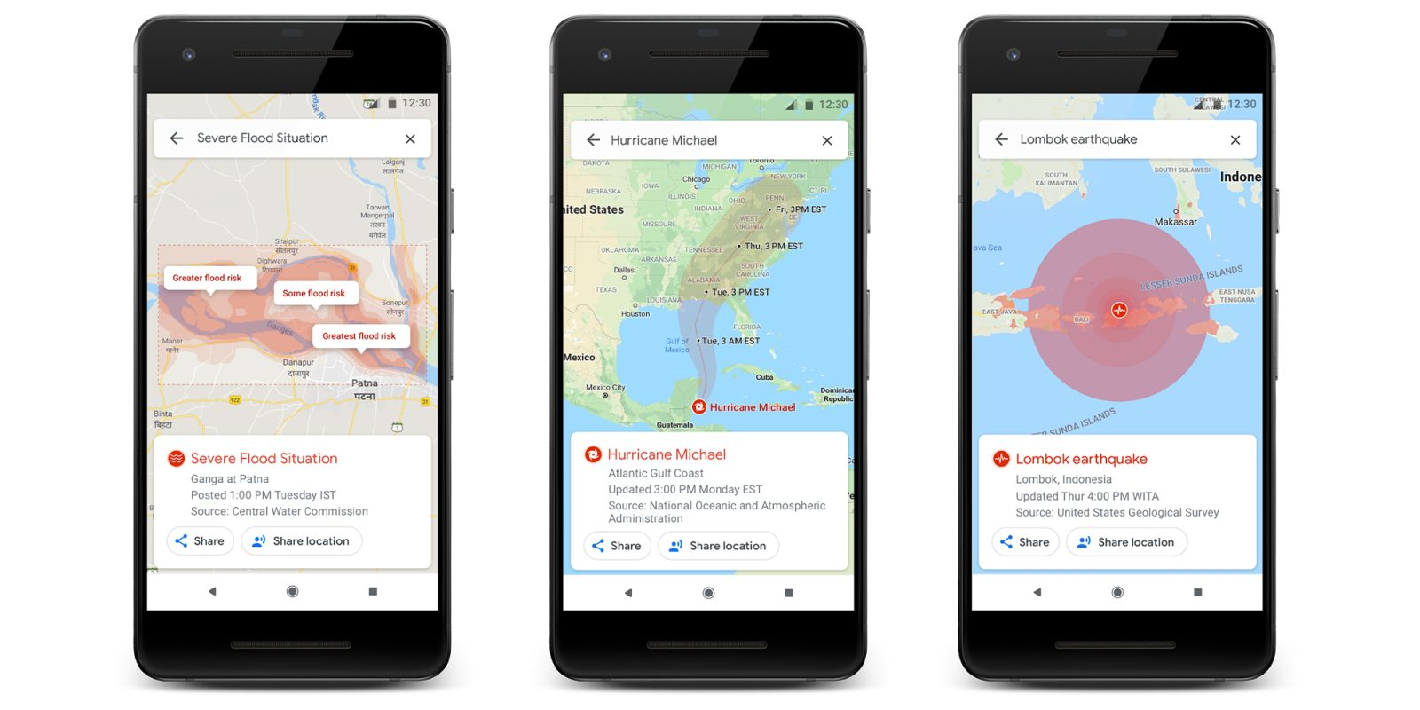 Google Sos Alerts Adds Real Time Natural Disaster Data More