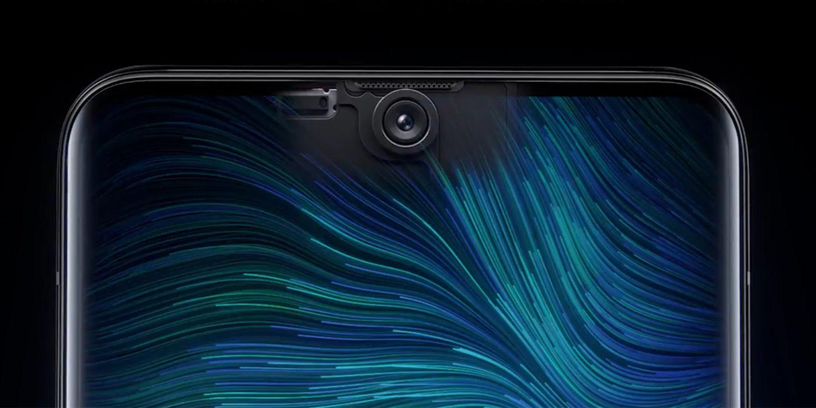 Oppo demos world's first under-display selfie camera