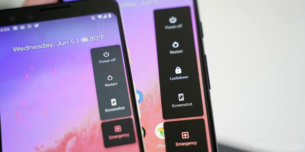 Android Q Beta 4: Dark Theme tweaks in Pixel Launcher