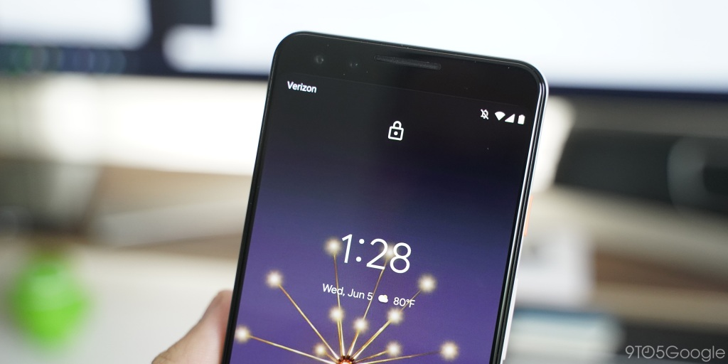 Android Q Beta 4: Pixel devices get a tweaked lock screen w/ relocated lock icon