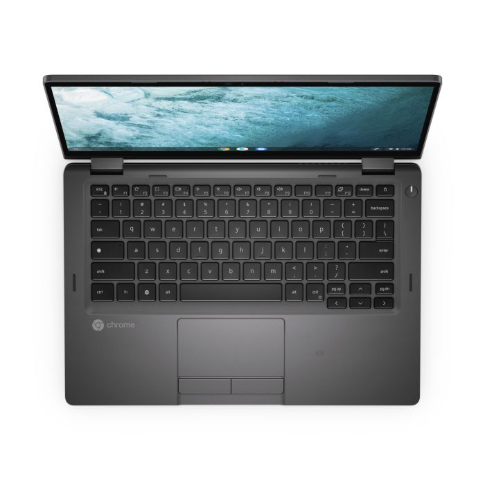 Dell Latitude 5300 Chromebook keyboard view