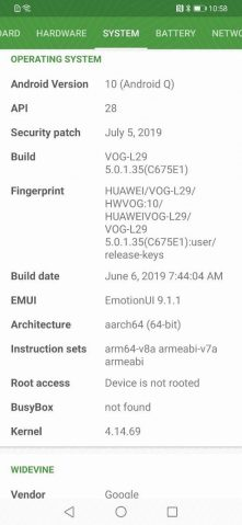 EMUI 10 leaks to show off Huawei's Android Q - 9to5Google