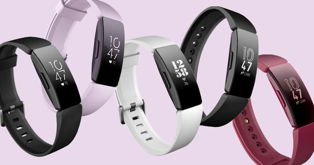 Fitbit Inspire and Inspire HR lineup