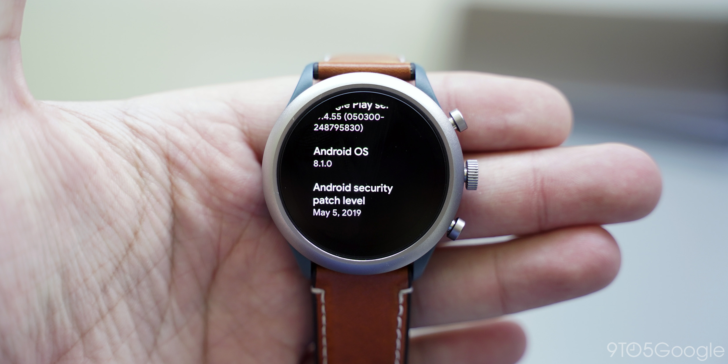 fossil sport may security update