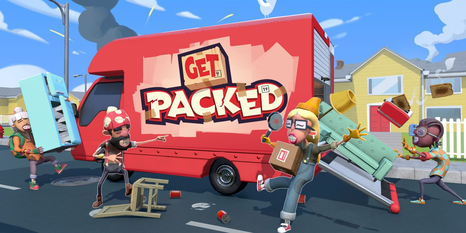 'Get Packed' is Google Stadia's first exclusive, coming in 2020 w/ multiplayer
