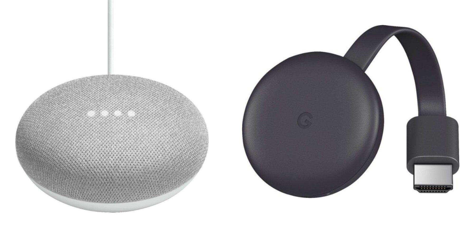 Chromecast and Google Home Mini bundled at $44, plus deals on Chromebooks, more