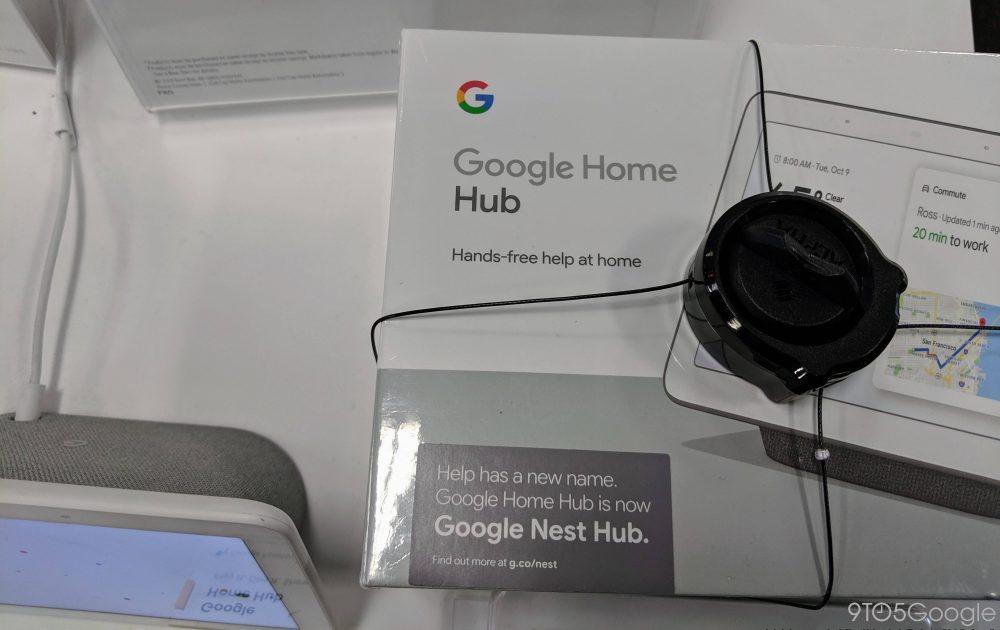 Google Nest Hub brand