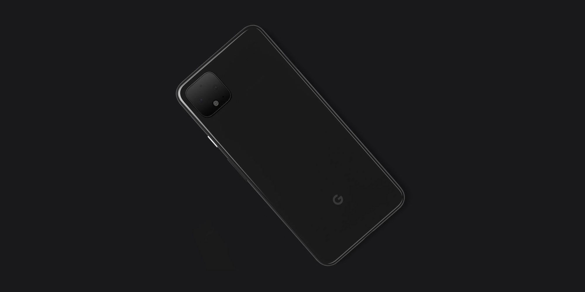 Google Pixel 4 design