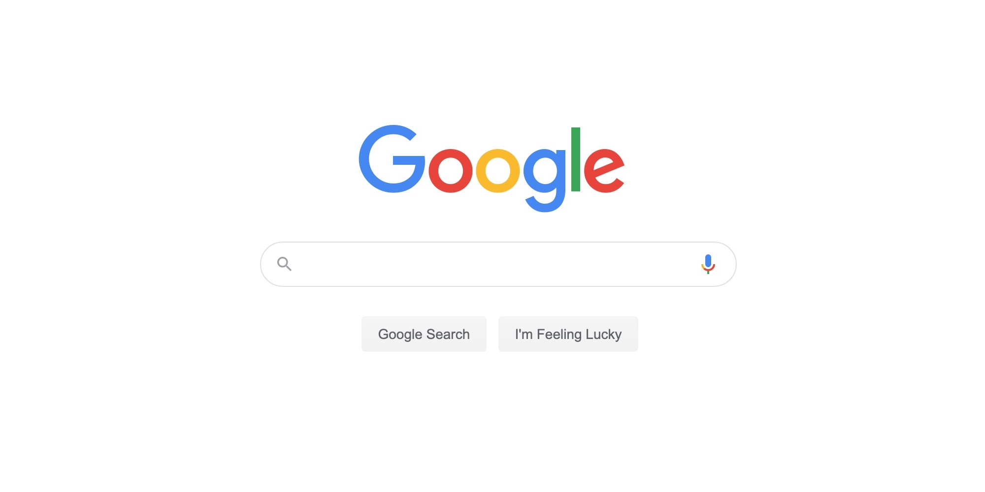 [Update: Rolled out] Google․com replaces 'magnifying glass' icon with 'Search' button