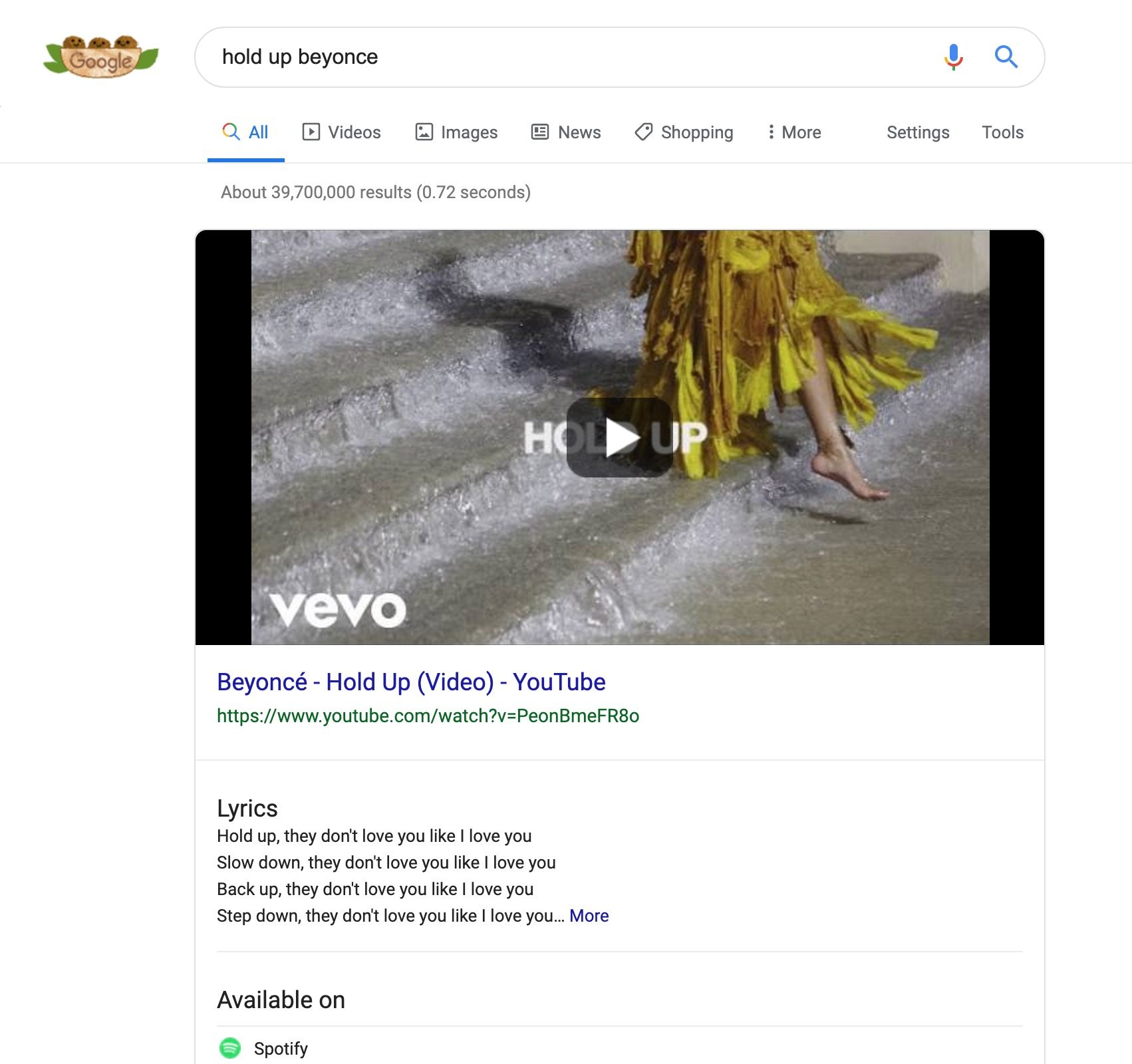 Google explains how it licenses song lyrics for Search