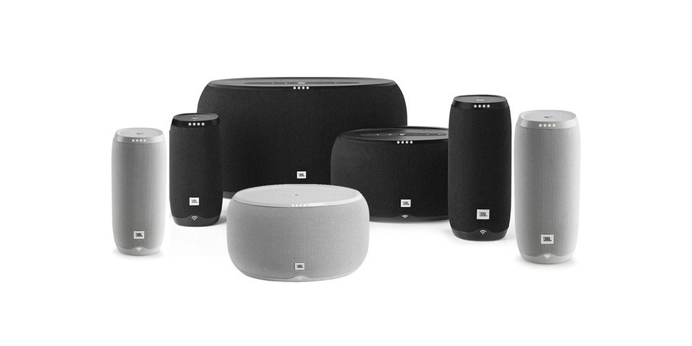 jbl link google assistant speakers