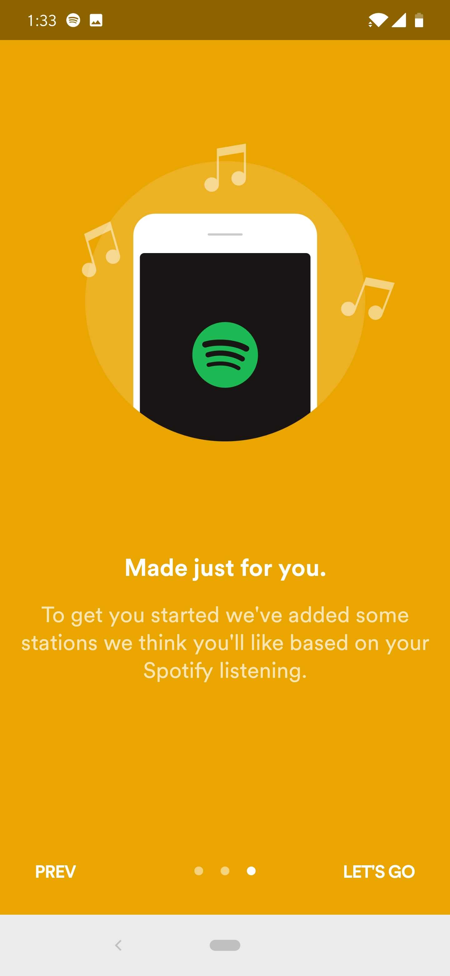 Spotify Stations app w/ personalized radios arrives on Android and