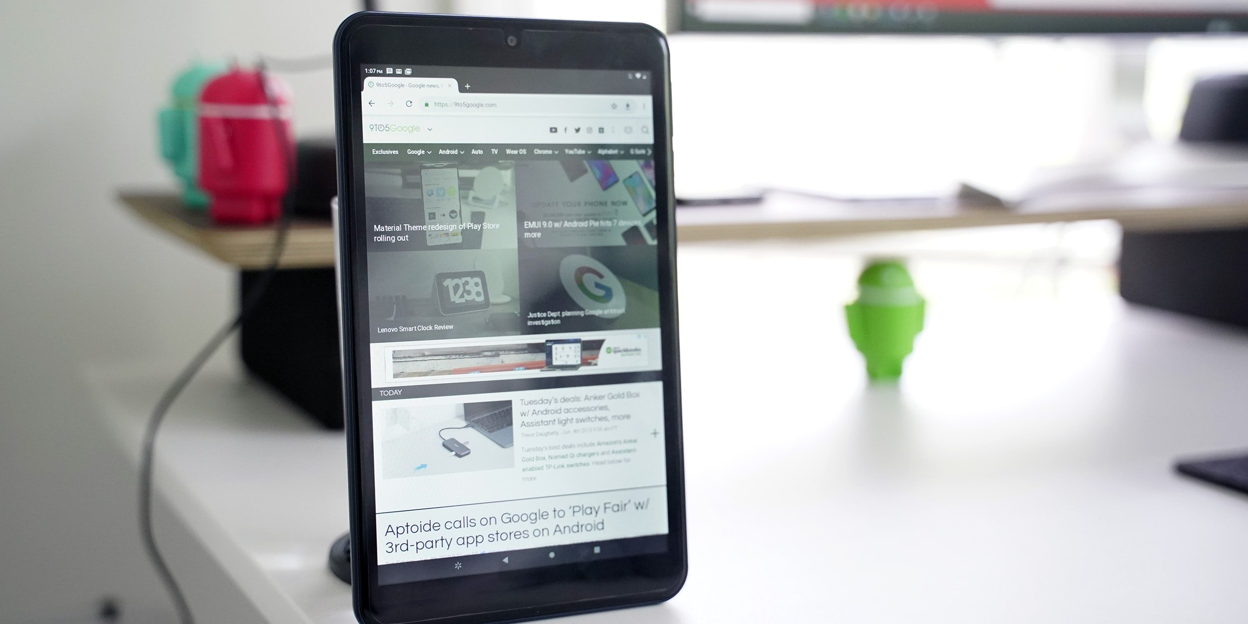 Google says there are 175M Android tablets with Play Store