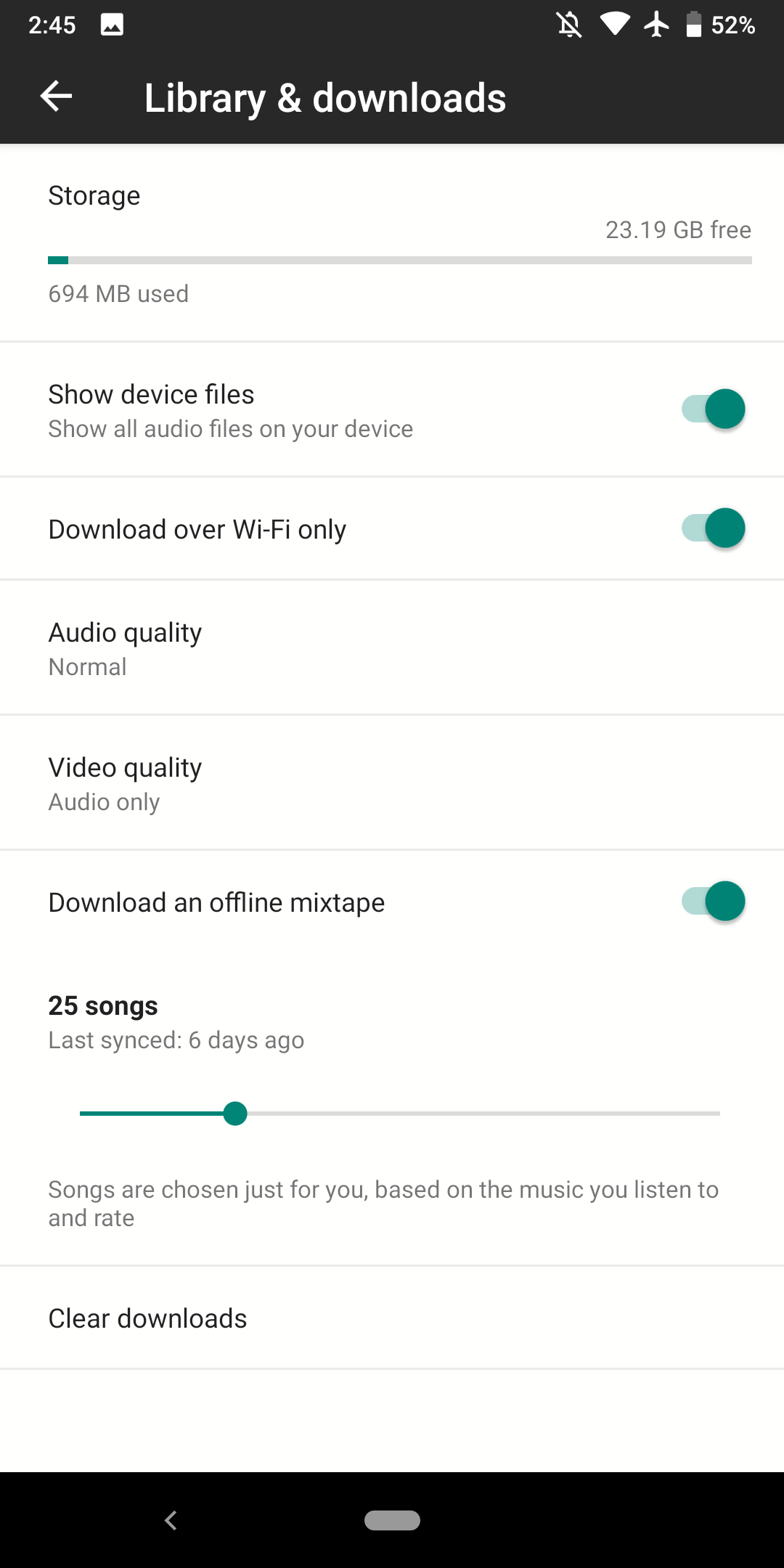 YouTube Music revamps offline caching w/ 'smart downloads